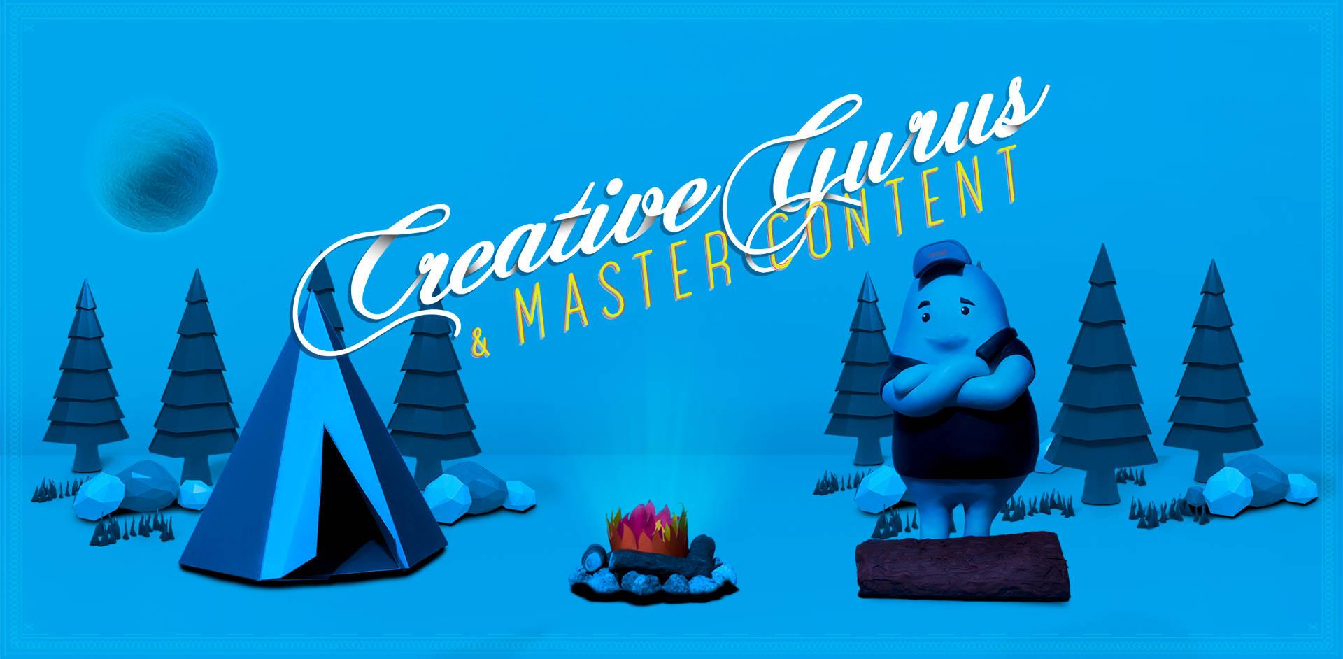 Creative Gurus & Master Content
