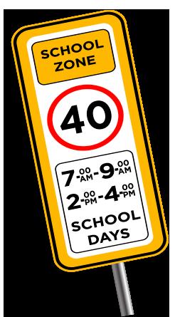 Infografías - School zone
