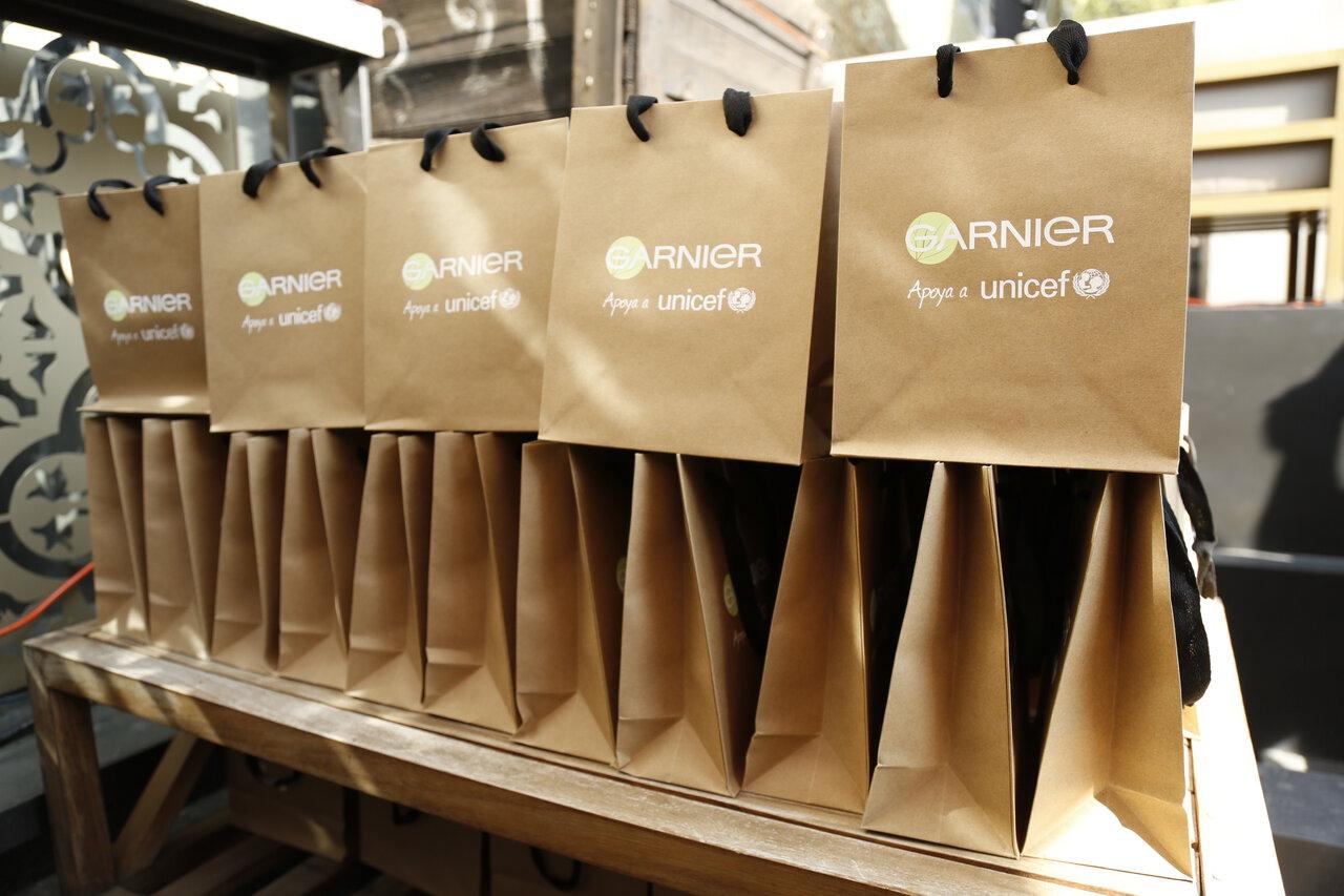 Eventos de Garnier con Unicef