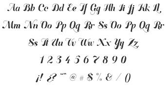 Diseño de tipografía acento
