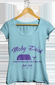 Camiseta de Moby Dick