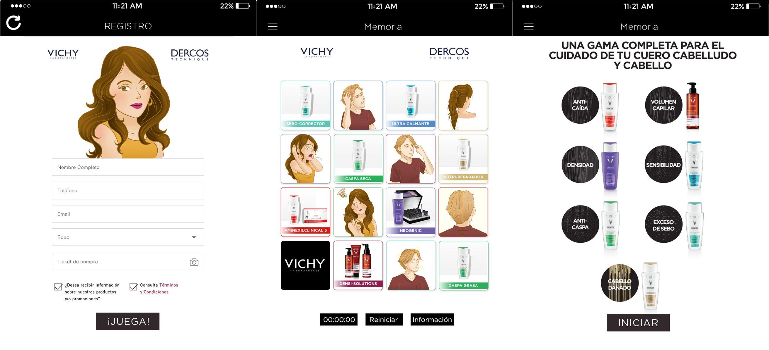Aplicación iPad para Vichy